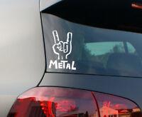 Metal Musik Aufkleber Metal Rock Auto Sticker Rock and Roll festival tattoo JDM