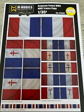 Drapeaux France version2 WW2 1/35 - NT0006