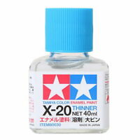 TAMIYA 田宮 タミヤModel Kit 80030 ; X-20 Enamel Paint Thinner (40ml) For Model Kit