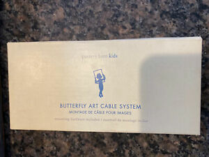 NWT Pottery Barn kids Butterfly Art Cable System
