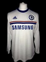 Chelsea 2013-14 Away Vintage Football Shirt L/S- Good Condition
