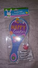 Happy Easter Paddle Ball. 1 Ct.