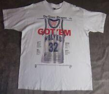 270360b8a Vintage 90 s Minnesota Timberwolves Original Jersey T-shirt Mens XL