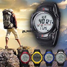 Life Waterproof Outdoor Mountaineering Sports Men Digital LED Quartz Wrist Watch