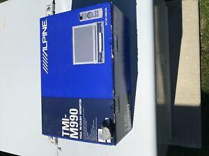 NEW Alpine F1 Status TMI-M990 Monitor