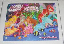 Album WINX CLUB Missione Oceano NUOVO VUOTO Magic Sticker Figurine