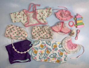 vint '80s My Little Pony PONY WEAR Baby Pajamas & Accessories LOT 4863