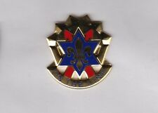 US ARMY 6th INFANTRY DIVISION crest DUI badge cb clutchback G-23