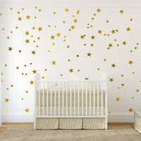 39Pcs Star Foil Wall Stickers Vinyl Art Romantic Room Ceiling Wall Decal Decor