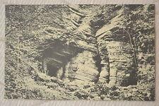 """CPA """" Grotte de HAN - Ancienne sortie"""