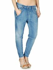 NEW WOMEN'S DIESEL size W30 or 10 L DENIM SWEAT PANTS JOGG JEANS FAYZA N E 0800H