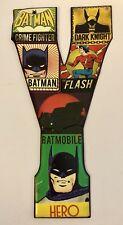 DC Comics Open Road Brands Metal Letter Y 5 X 10in Batman Flash Superman Hero