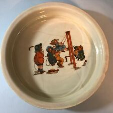 3 Blenheim China Germany Children's Child's Bowl Victorian