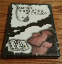 Taming, Training & Tricks (DVD) 3 Great Volumes On 1 DVD