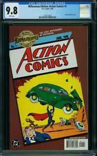 Action #1 CGC 9.8 DC 2000 Millennium Gold Foil Cover! 1st Superman! G7 133 cm