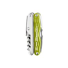 Leatherman 831931 Juice Xe6 Multi-Tool (Moss Green), 18 Tools