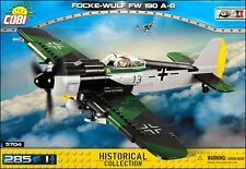 COBI Focke-Wulf Fw 190 A-8 (5704) - 285 elem. - WWII German fighter aircraft