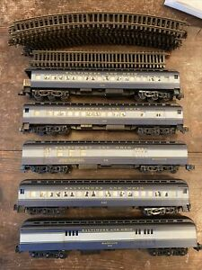 American Models S SCALE B&O #144 Heavyweight Passenger Cars Only & Some Track
