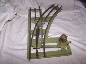 Lionel Prewar #210 Manual Standard Gauge Right Handed Track Switch