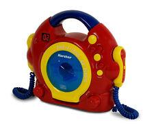 Karcher KL 2104 tragbarer Kinder CD-Player mit 2 Mikros und Kopfhöreranschluss