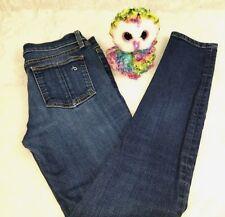 Rag and Bone Womens Skinny Ankle Jeans Kensington Size 26 Petite Medium Wash