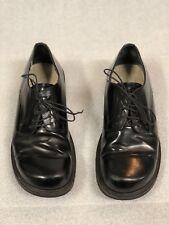 Birkenstock Footprints Black Patent Oxford dress shoe 40R (unisex)