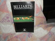New listing Billiards The Official Rules And Records Book PB, 1999