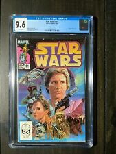 Star Wars #81 CGC 9.6 NM+ White Pages featuring the return of Boba Fett!