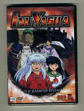 Brand New Sealed InuYasha Vol 35 Band of Seven DVD VIZ Media R1 Rumiko Takahashi
