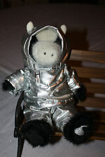 "BOYDS HERSHEY COW - 11"" TALL - SILVER SUIT with HOOD 1988-2006 NEW NO TAG"