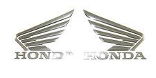 New Genuine Honda Tank Emblem Badge Set Wing Cafe Bobber Custom CB1000R #F89