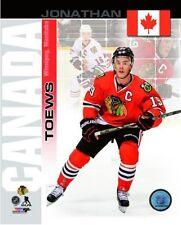 "JONATHAN TOEWS 2014 Team Canada ""Chicago Blackhawks"" LICENSED poster 8x10 photo"