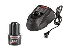 Bosch BAT414 + BC330 NEW 12V Battery + Charger, 2.0Ah HC Li-Ion Warranty