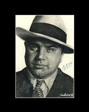 Al Capone mafia gangster drawing from artist art image picture poster