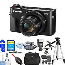 Canon PowerShot G7 X Mark II Digital Camera (Black) PRO BUNDLE BRAND NEW