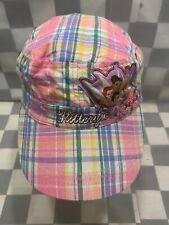 FLITTERIFIC Disney Princess Plaid Pink Girls Adjustable Youth Cap Hat