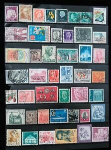 Nice Lot of 140 Classic Foreign Mint & Used Stamps Off Paper, No Reserve