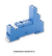 Din Rail Relay Socket - Finder Type 95.75
