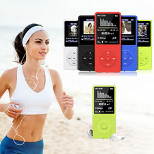 8GB 70 Stunden Playback MP3 MP4 Lossless Sound Musik Player FM Recorder TF Karte