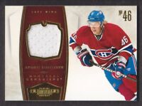 2010-11 Dominion Jersey #50 Andrei Kostitsyn 99/99 Montreal Canadiens