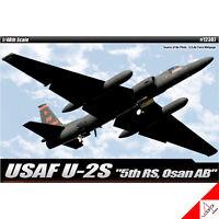 "Academy 1/48 USAF U-2S ""5th RS, Osan AB""  US Air Force Plastic model kit #12307"