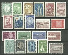 OLDER FINLAND stamps 1930's to 1960's - 20 different MNH