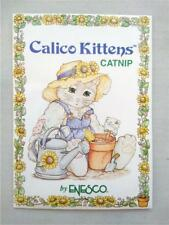 Vintage Calico Kittens*Catnip Seeds Packet*Collectible Cute Picture*1994*Enesco