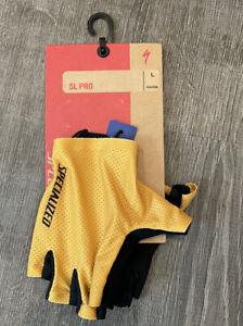 Specialized SL Pro Half Finger Gloves Size Large