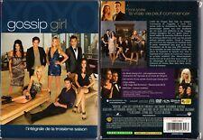 GOSSIP GIRL - Saison 3 - Coffret  3 Boitiers Slim - 5 DVD - OCCASION