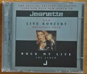 Jeanette - Rock My Life (Special Edition) CD+DVD Album - Zustand Gut