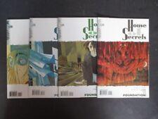 House of Secrets no 1, 2, 3, 4 completamente us Vertigo