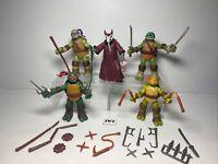2012 - TMNT - Teenage Mutant Ninja Turtles - Viacom - Playmates - BUNDLE x5 🔥