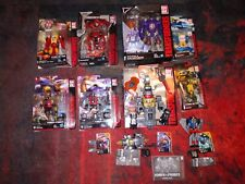 Hasbro transformers lot Titans return, power of the primes, and combiner wars.