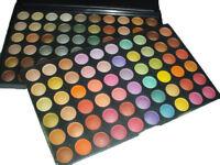 120 Color EyeShadow Palette Makeup WARM Shimmer Professional Beauty 03 C set